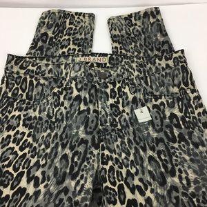 J Brand leggings Snow Leopard   Size 28
